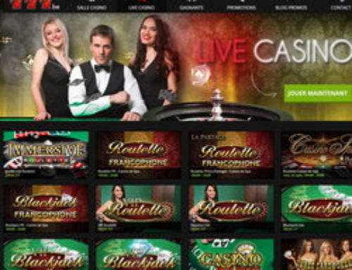 Casino777 et ses jeux en live