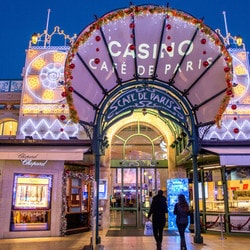 Greve au casino du Cafe de Paris de Monaco